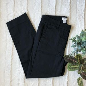 J.Crew | black ankle pants - size 0